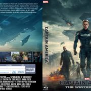 Captain America: The Winter Soldier (2014) R2 Blu-Ray Custom German