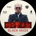 Black Mass (2015) Blu-Ray Custom Label