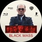Black Mass (2015) Blu-Ray Custom Label