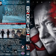 Bridge of Spies (2015) R1 Custom DVD Cover & Label