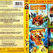 Open Season 4 Movie Collection (2006-2016) R1 DVD Cover