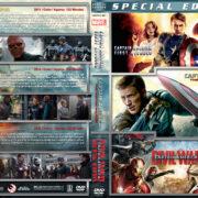 Captain America Triple Feature (2011-2016) R1 Custom Covers