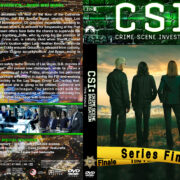 CSI: Crime Scene Investigation – The Finale (2015) R1 Custom Covers & Label