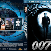 Daniel Craig – 007 Collection (2008-2015) R1 Custom Covers