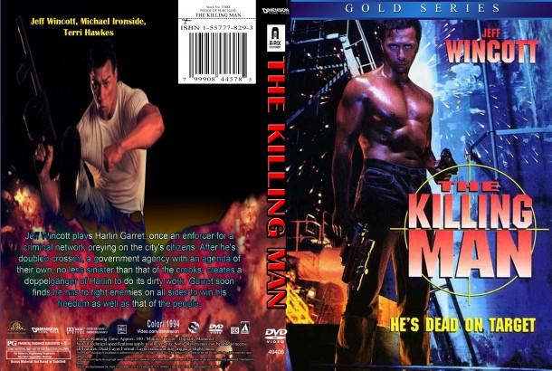The Killing Man (1994) R1 Custom DVD Cover