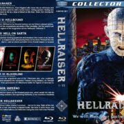 Hellraiser I-VI (1987-2002) R1 Custom Blu-ray Covers