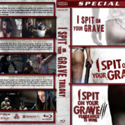 I Spit on Your Grave Trilogy (2010-2015) R1 Custom Blu-ray Cover