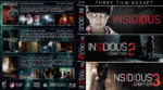 Insidious Triple Feature (2010-2015) R1 Custom Blu-Ray Covers