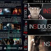 Insidious Triple Feature (2010-2015) R1 Custom Blu-Ray Covers