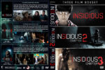 Insidious Triple Feature (2010-2015) R1 Custom DVD Covers