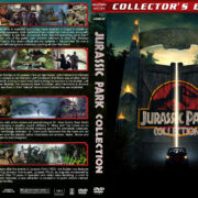 Jurassic Park Collection (1993-2015) R1 Custom DVD Cover