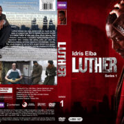 Luther – Series 1 (2010) R1 Custom Covers & Labels