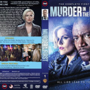 Murder in the First - Season 1 (2014) R1 Custom Cover & labels