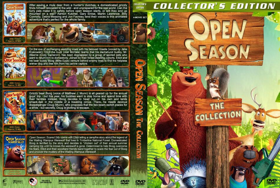 Open Season The Collection Dvd Cover 2006 2015 R1 Custom
