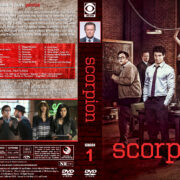 Scorpion – Season 1 (2015) R1 Custom Covers & labels