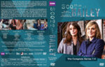 Scott and Bailey: The Complete Series 1-4 (2014) R1 Custom Cover & labels
