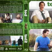 Ted Double Feature (2012-2015) R1 Custom Blu-Ray Cover