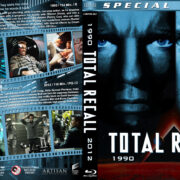 Total Recall Double Feature (1990-2012) R1 Custom Blu-Ray Cover
