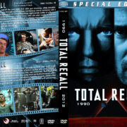 Total Recall Double Feature (1990) R1 Custom Cover