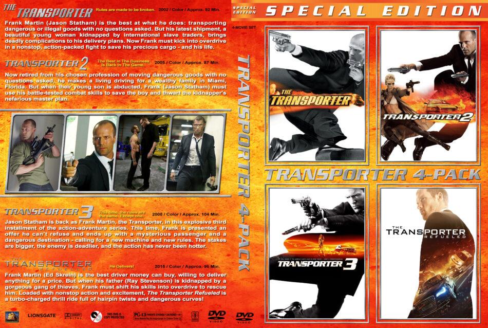 Transporter 2 dvd cover & custom label (2005) R2 Nordic |Transporter 2 Dvd Cover