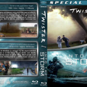 Twister / Into the Storm Double Feature (1996-2014) R1 Custom Blu-Ray