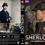 Sherlock: The Abominable Bride (2016) R1 Custom Cover & labels