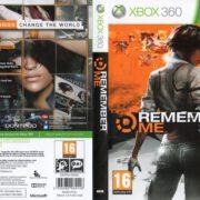 Remember Me (2013) XBOX 360 PAL