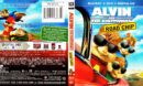 Alvin and the Chipmunks: The Road Chip (2015) R1 Blu-Ray Cover