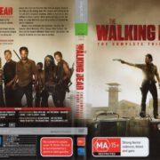 The Walking Dead: Season 3 (2013) R4 DVD Cover