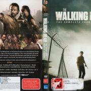 The Walking Dead: Season 4 (2014) R4 DVD Cover