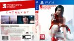 Mirrors Edge Catalyst (2016) PS4 USA Custom