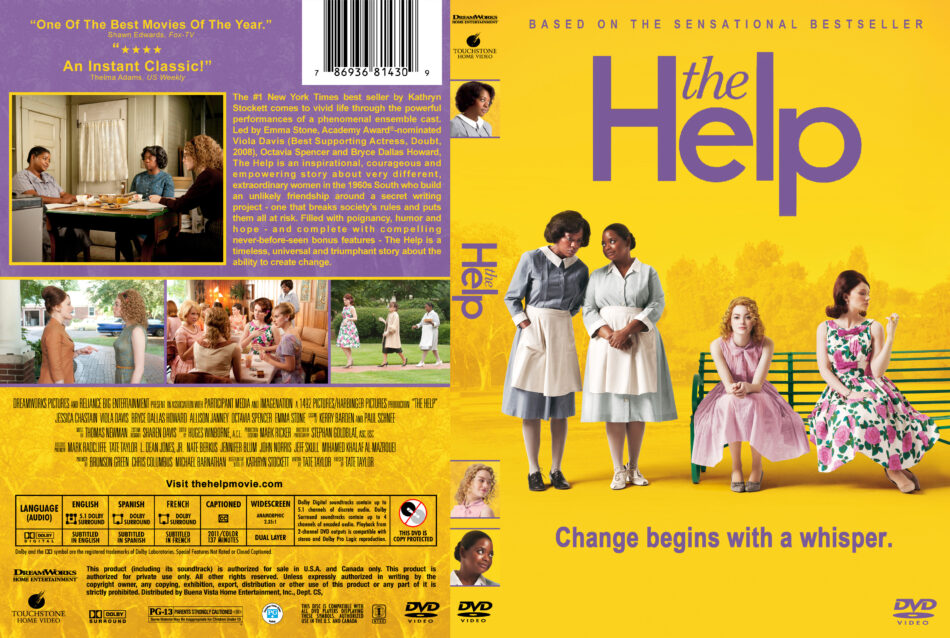 The Help Dvd Cover Label 2011 R1 Custom