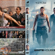 White House Down (2013) R1 Custom Cover & label