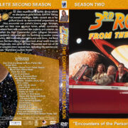3rd Rock from the Sun – Season 2 (1997) R1 Custom cover & labels