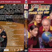 3rd Rock from the Sun – Season 4 (1999) R1 Custom Cover & labels