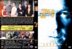 24 – Season 1 (2002) R1 Custom Cover