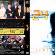 24 – Season 1 (2002) R1 Custom Cover