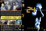 24 – Season 2 (2003) R1 Custom Cover