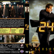 24 – Season 7 (2009) R1 Custom Cover & labels