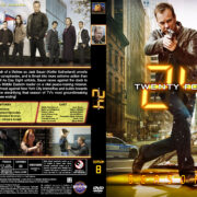 24 – Season 8 (2010) R1 Custom Cover & labels