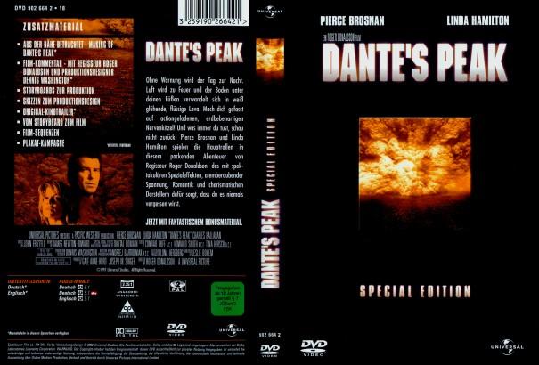 Dante's Peak (1997) R2 German Cover