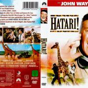 Hatari (1962) R2 German Covers