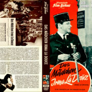 Das Mädchen Irma la Douce (1963) R2 German Cover