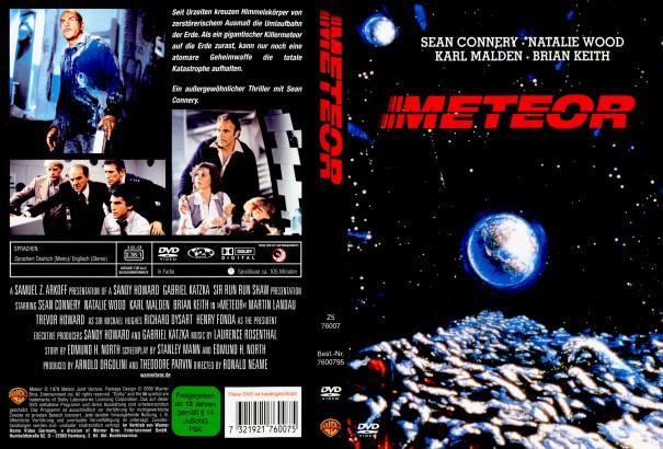 Meteor (1979) R2 German Cover