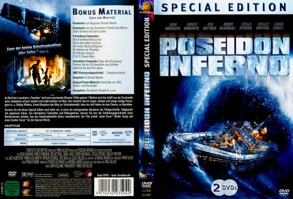 Poseidon Inferno: Die Höllenfahrt der Poseidon (1972) R2 German Cover