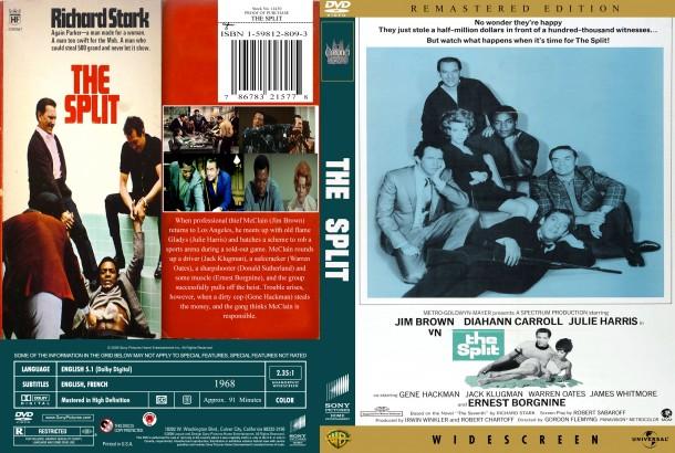 The Split (1968) R1 Custom DVD Cover