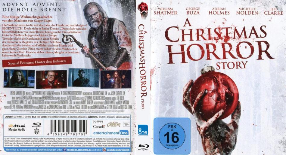 A Christmas Horror Story 2015.A Christmas Horror Story Blu Ray Cover Label 2015 R2 German