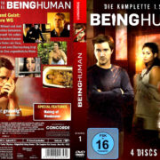 Being Human Staffel 1 (2011) R2 German Custom Cover & labels
