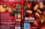 Being Human Staffel 2 (2012) R2 German Custom Cover & labels