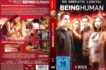 Being Human Staffel 3 (2013) R2 German Custom Cover & labels